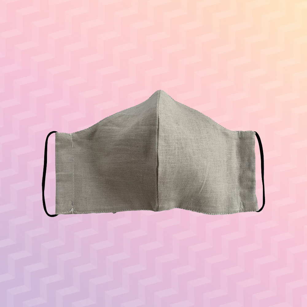 Casual Beige Mask - Adult Sized